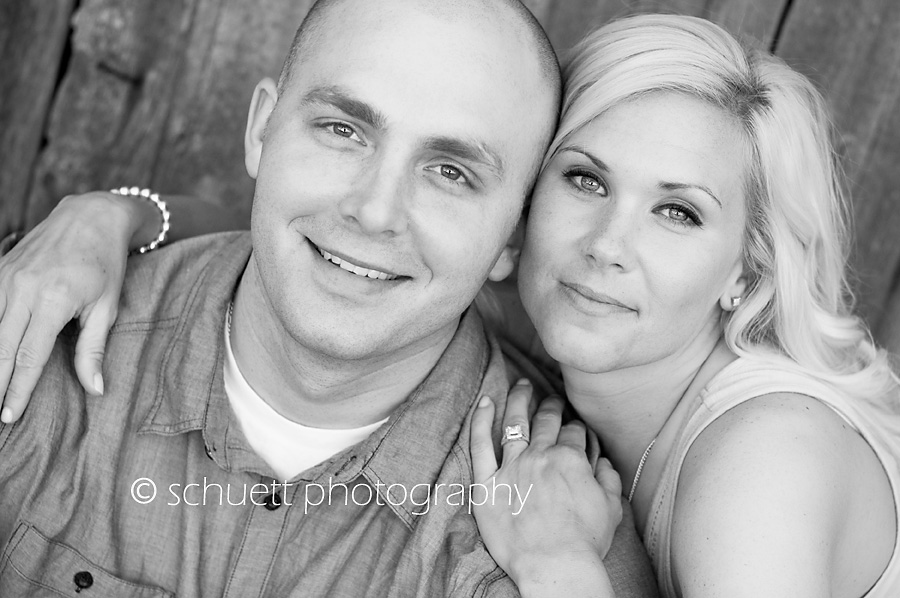 Black and white photography engagement wedding photography in Milwaukee Wisconsin