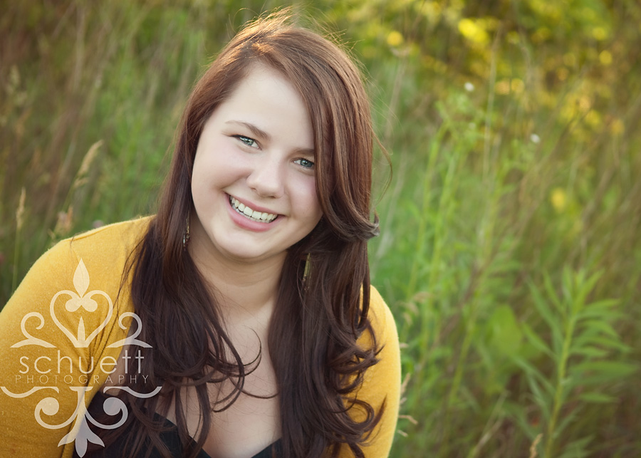 Senior Photography of a girl in Waukesha, edited with Michelle Kane