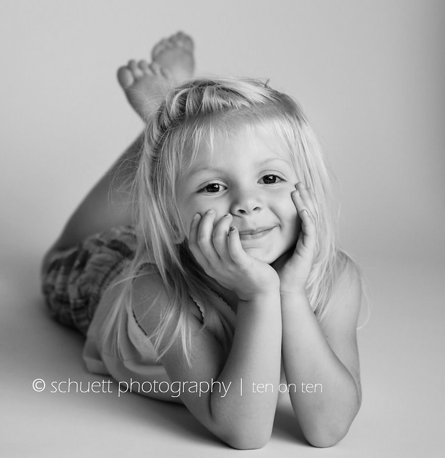 Black and white studio photography in Wisconsin