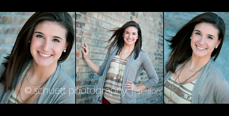 what to wear for senior pictures in milwaukee wisconsin, the perfect necklace and layers to make a fun stylish yet classic look