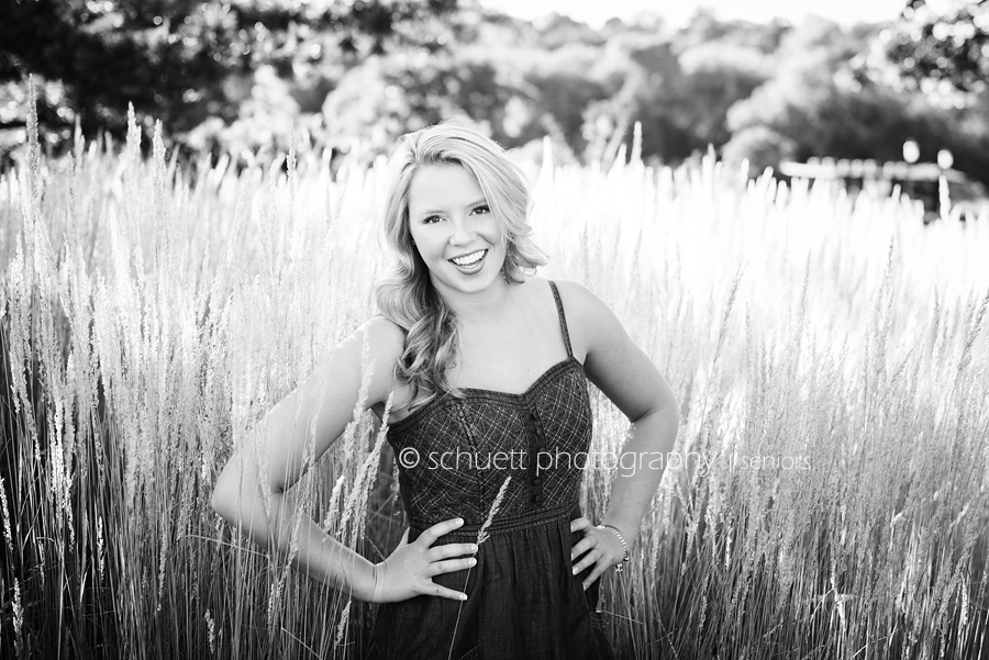 Tall black and white wheat grass beautiful senior photography