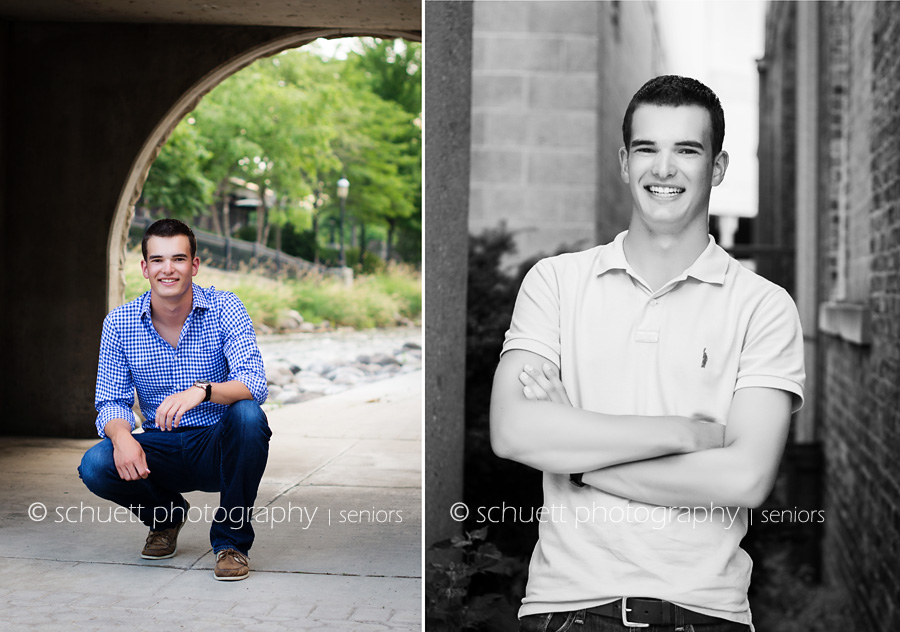 Natural yearbook senior model headshots. Best Milwaukee photographer
