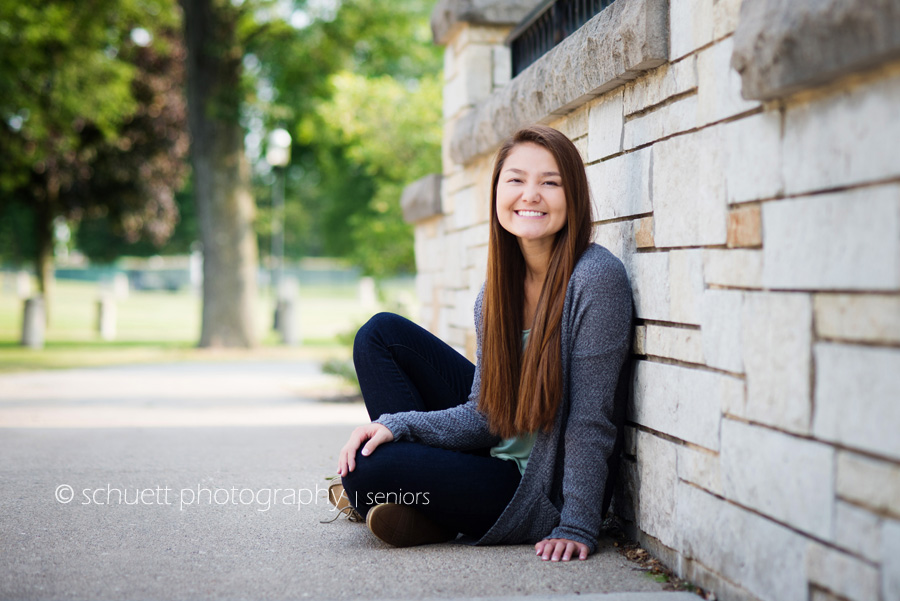 Casual senior photography milwaukee Waukesha