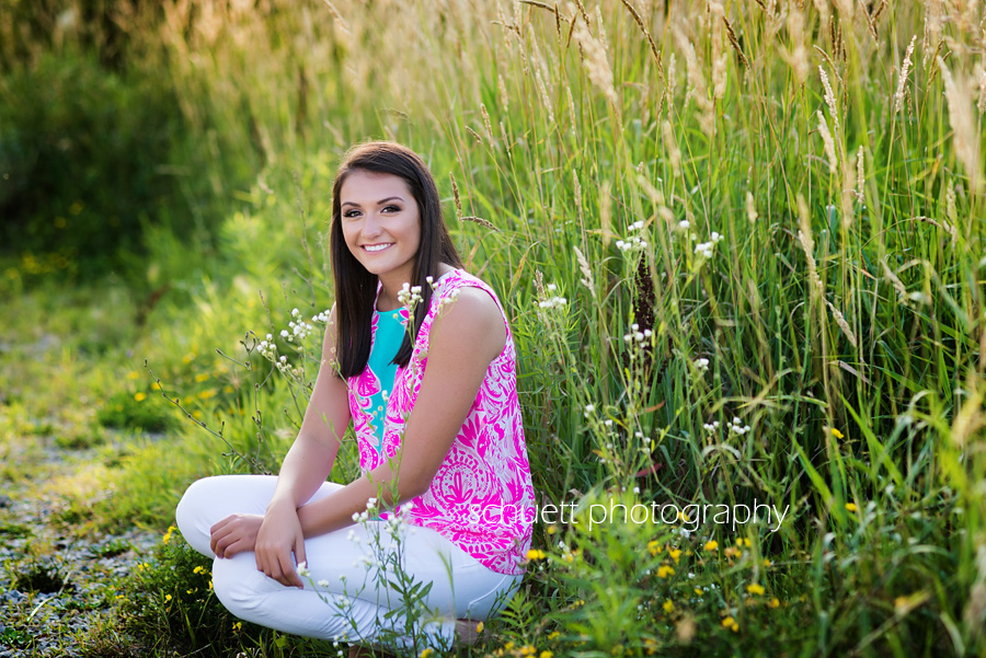 Outdoor nature senior photography pictures Wisconsin