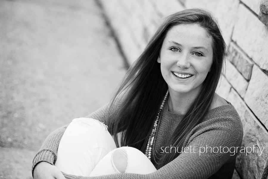 black and white photography senior pictures divine savior holy angles milwaukee