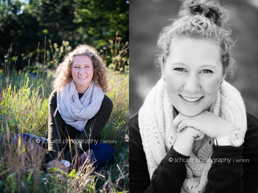 fun and casual senior photography in southeastern wisconsin